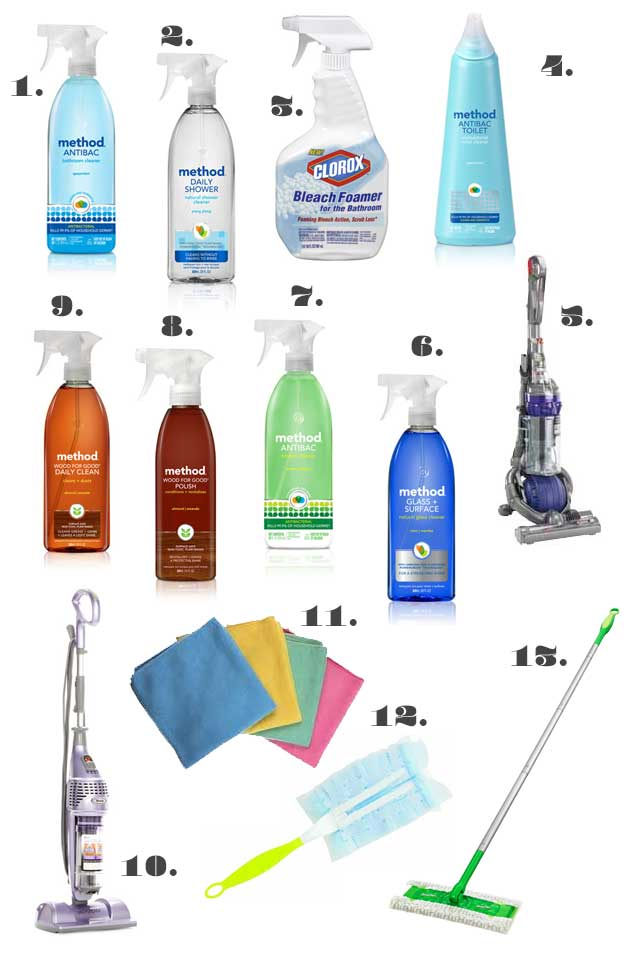 Cleaning Products I Use