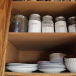 Organized Kitchen Plates