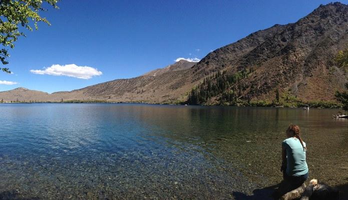 Convict Lake vacation