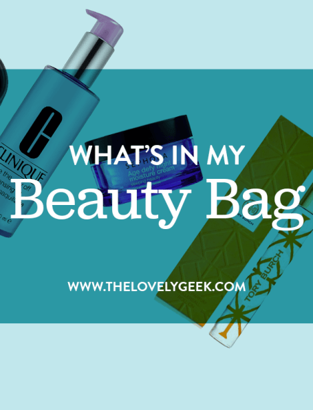 What's in My Beauty Bag: May 2015 #thelovelygeek