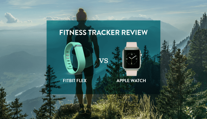 FitBit Flex vs Apple Watch #thelovelygeek