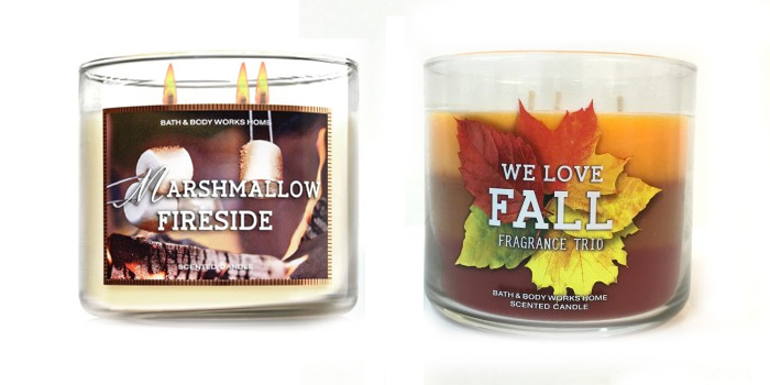 My Favorite Fall Candles from Bath & Body Works