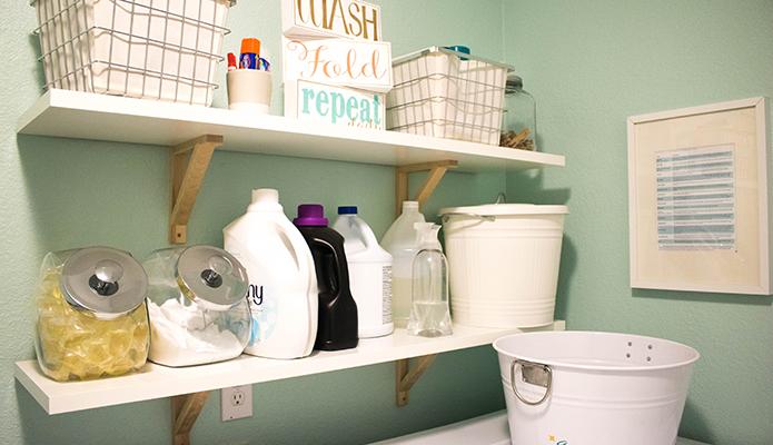 Laundry Room Reveal #thelovelygeek