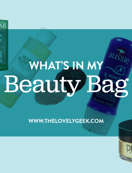 What's in My Beauty Bag: October 2015 #thelovelygeek
