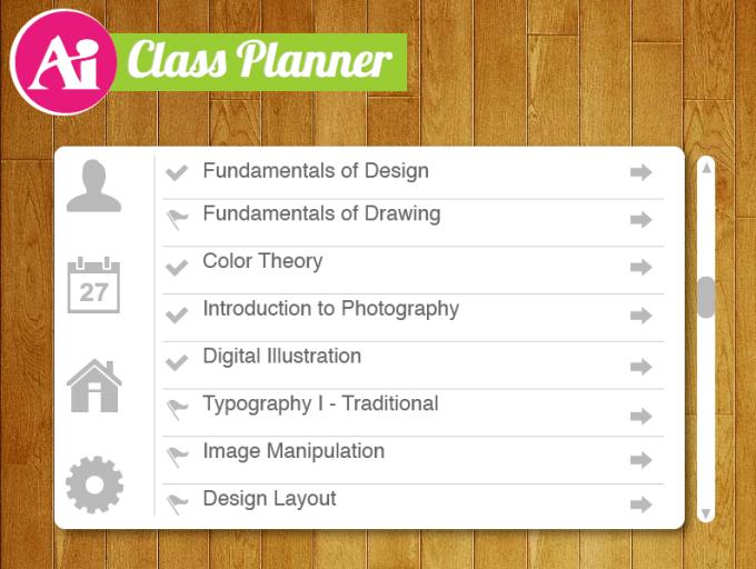 Class Planner List