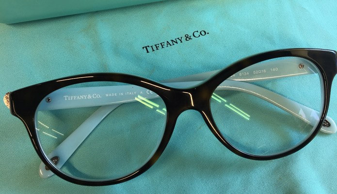 Tiffany & Co. glasses #thelovelygeek
