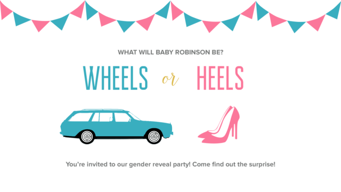 #genderreveal #wheelsorheels #mercedesbenz