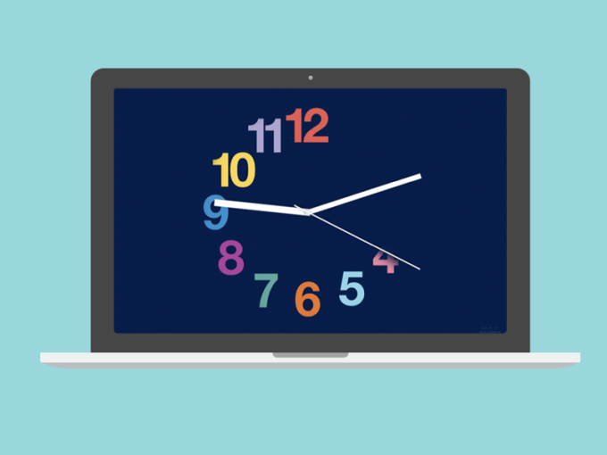 Real Simple's 10th Anniversary Clock