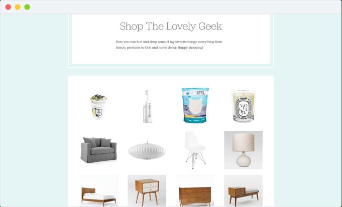 Shop The Lovely Geek #thelovelygeek
