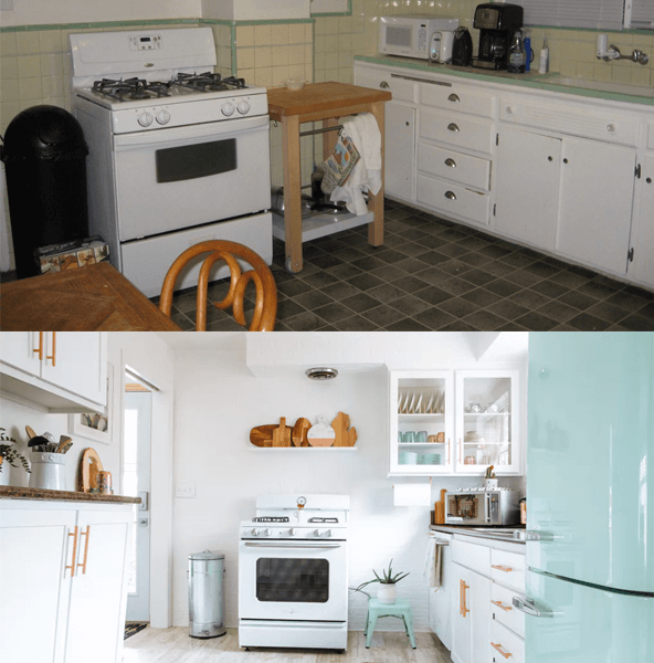 If I could redo the duplex kitchen #thelovelygeek