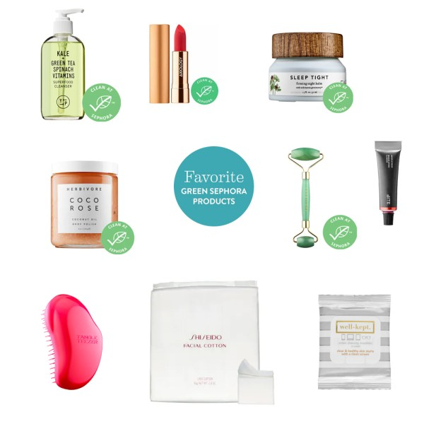 My Favorite Green Sephora Products #thelovelygeek