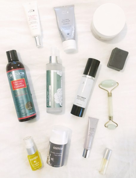 My New Green Skincare Routine