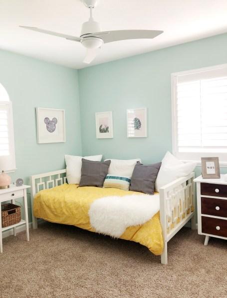 Guest Room Reveal #oneroomchallenge #thelovelygeek