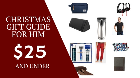 Holiday Gift Guide: Christmas Gifts for Him Under $25 - The Lovely Twist
