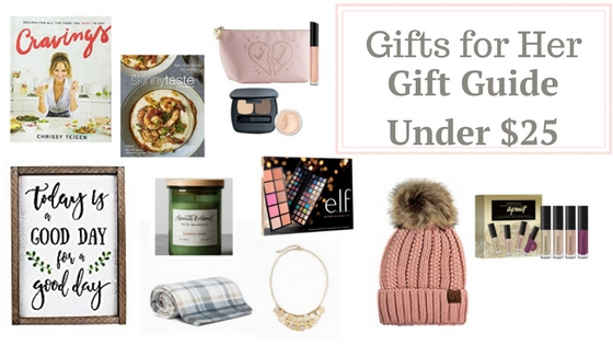 Holiday Gift Guide – Holiday Gifts for Her Under $25