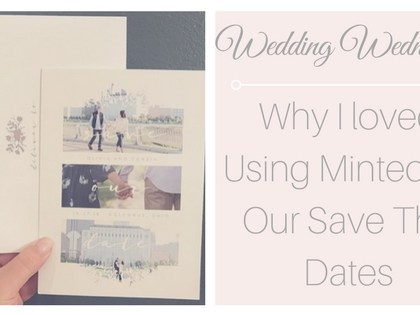 Wedding Wednesday – Save the Dates!