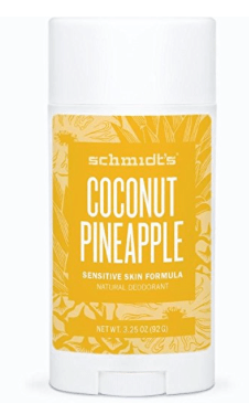 Schmidt's deodorant is effective and safe (no aluminum). This scent is perfect for summertime!