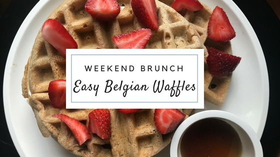Light and Fluffy – Simple Belgian Waffle Recipe