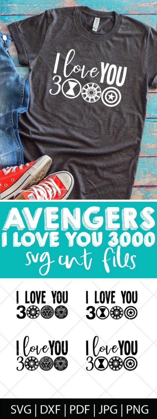 Download Avengers Endgame SVG Bundle - The Love Nerds