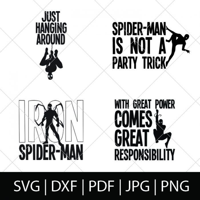Download Spider-Man SVG Bundle - The Love Nerds