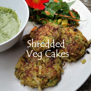 Shredded Veg Cakes