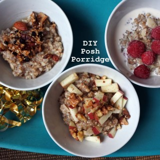 DIY Posh Porridge