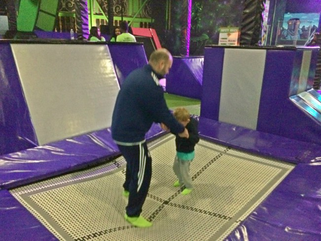 Flip Out Trampoline Park London E6 - The Love of a Captain Blog