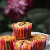 Orange and Dark chocolate muffins