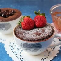 Eggless Chocolate Mug Cake