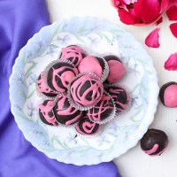 Chocolate Rose Truffles