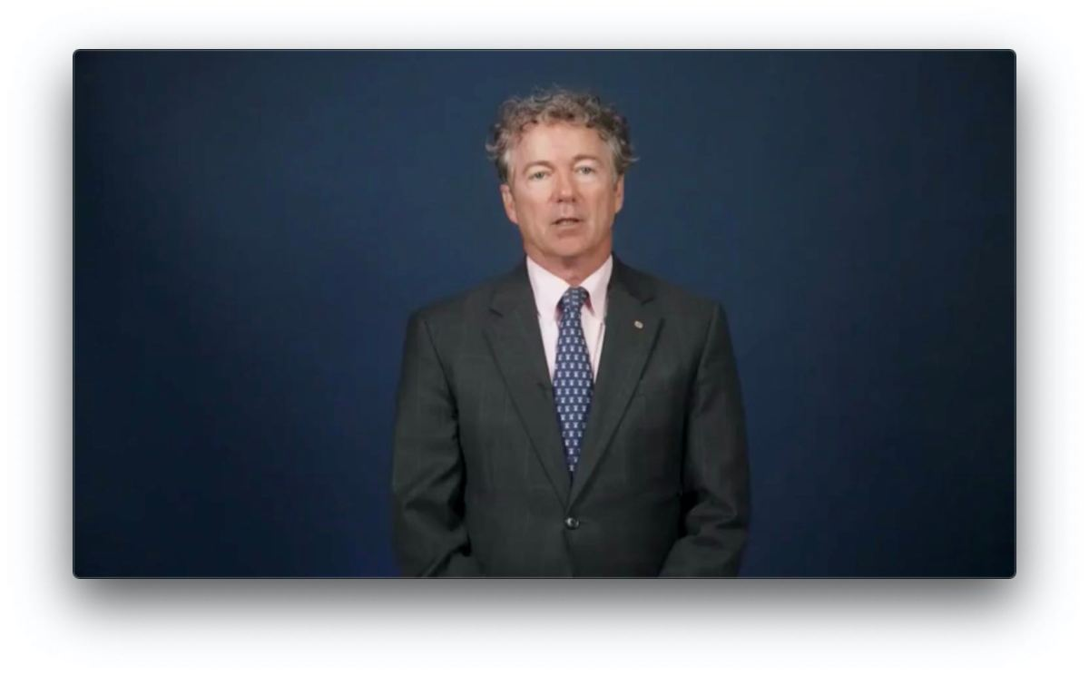 Rand Paul Tells Us - Do Not Comply