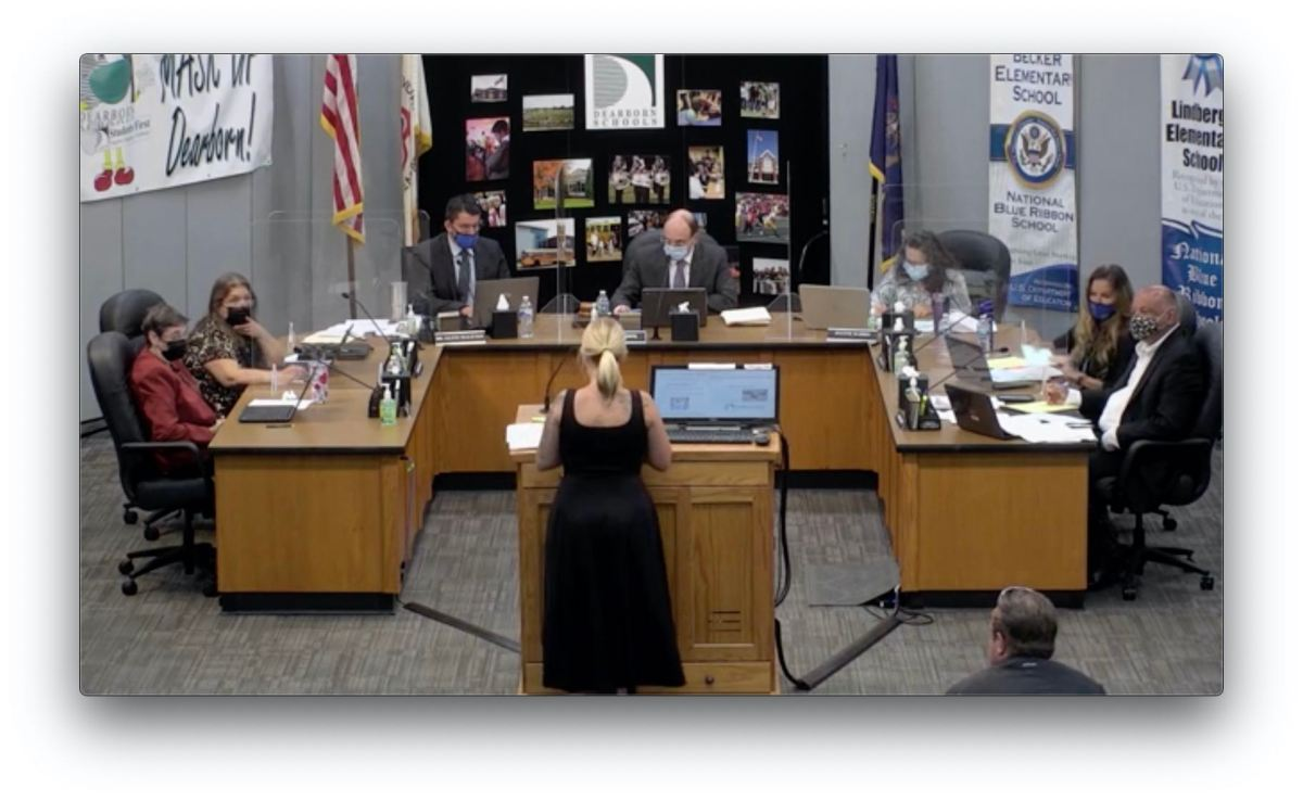 Mom Stands Up For Her Babies In School Board Meeting