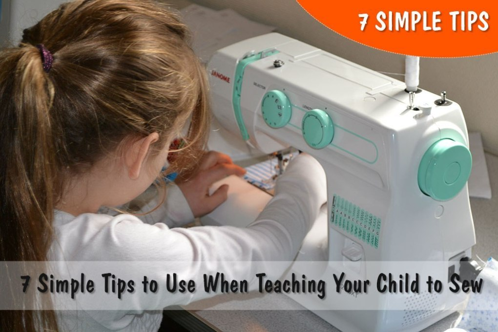 7 Simple Tips to Use When Teaching Your Child to Sew (Image: Flickr)