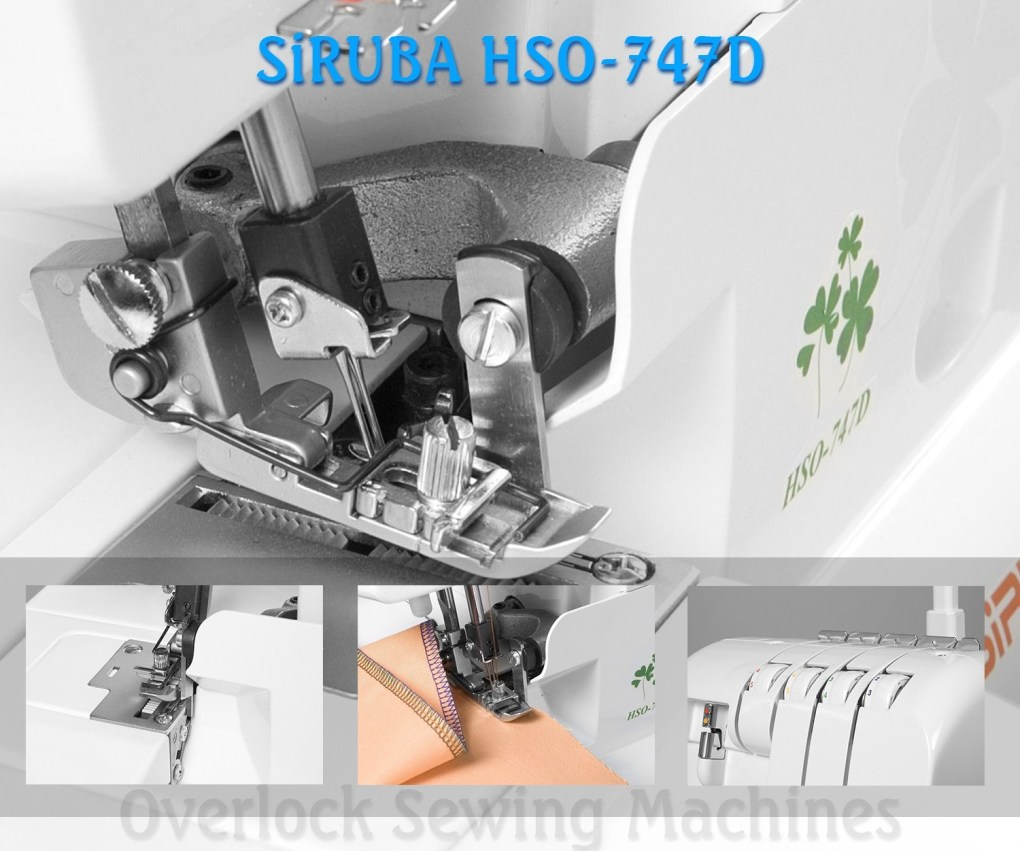 SiRUBA HSO-747D overlock sewing machine for professional finish (Image: Amazon)