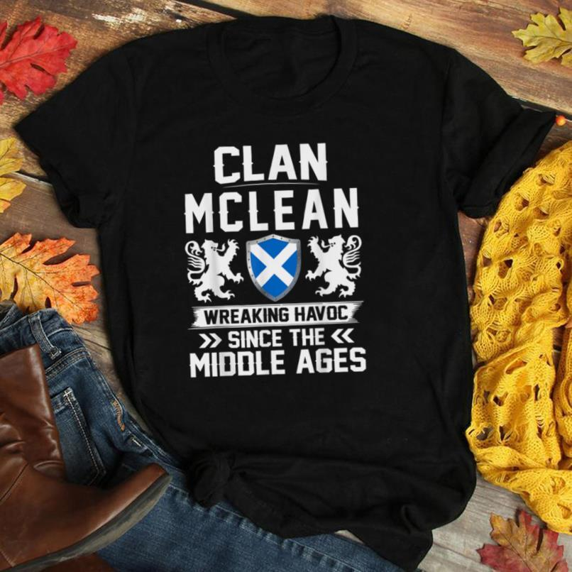 Clan MCLEAN scottish family scotland mothers day fathers T Shirt