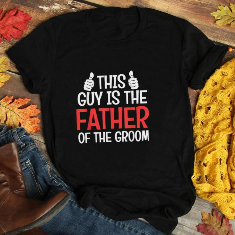 Father Of The Groom Wedding Gift Mens Bachelor Best Man Gift T Shirt