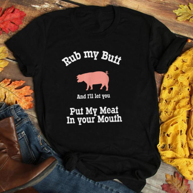 Funny BBQ, Smoking, Grilling design for Fathers day 4th July T Shirt