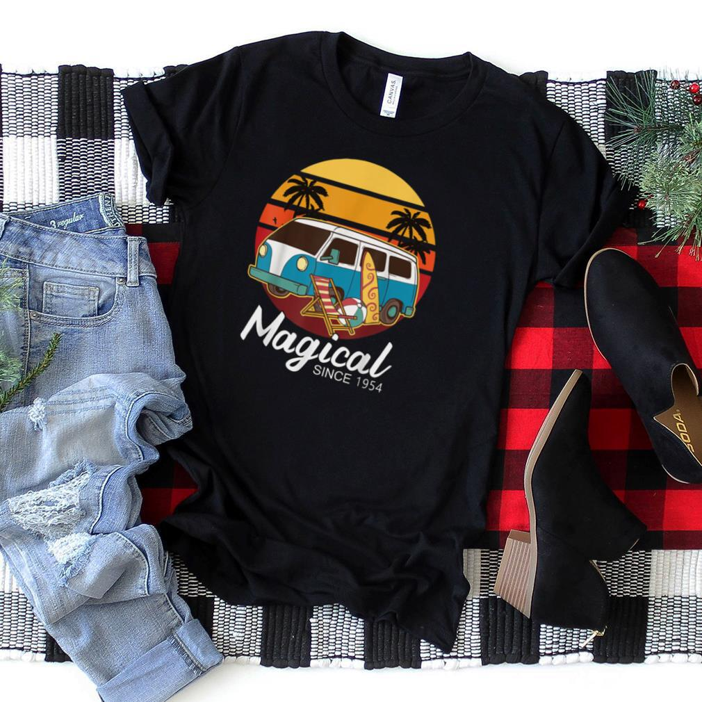 Funny Camper   Magical Since 1954 T Shirt