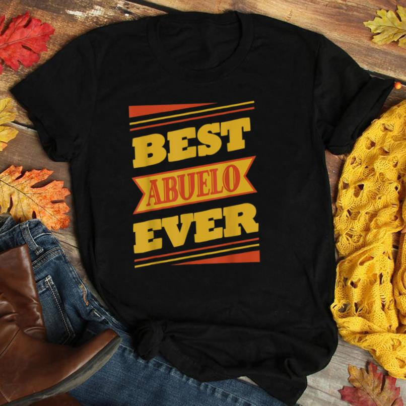 Graphic 365 Best Abuelo Ever Grandpa Fathers Day Gift T Shirt