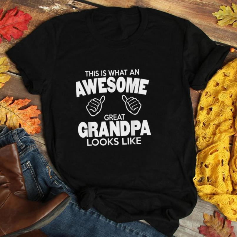 Mens Great Grandpa Shirt for an awesome GREAT Grandpa
