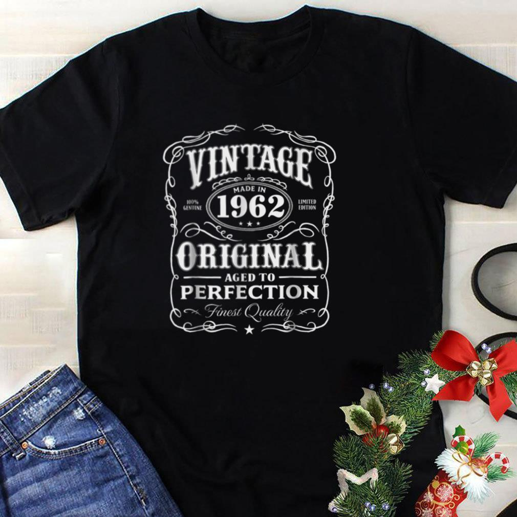 Vintage Made In 1962 T Shirt 56th Birthday Gift
