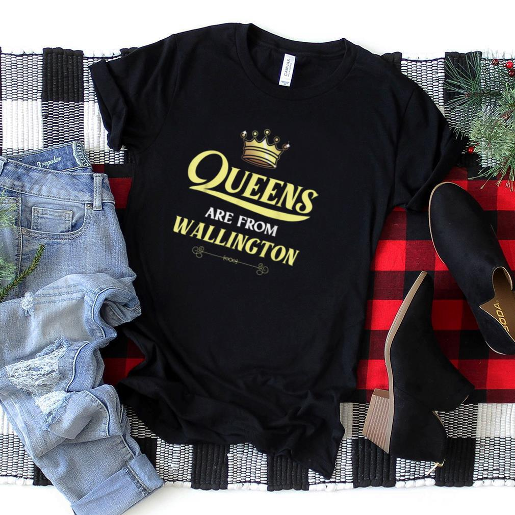 WALLINGTON Gift Funny Home Roots Grown Born In City USA T Shirt