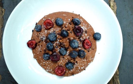 Chocolate paleo porridge