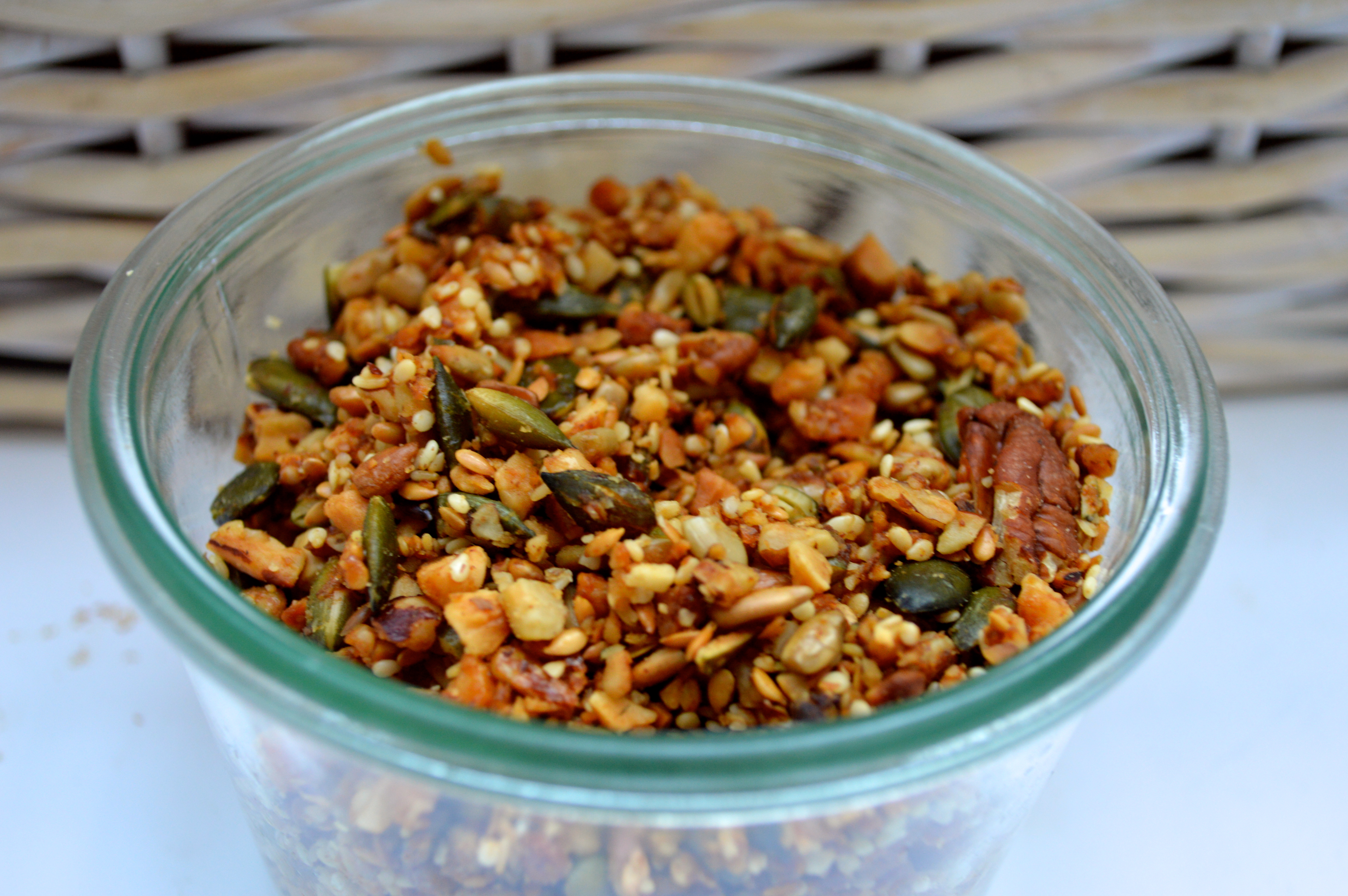 Simple homemade granola
