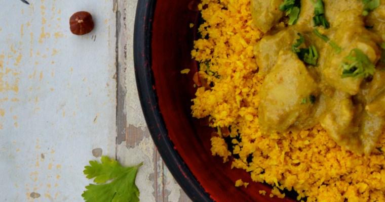 Nut Butter Chicken Curry