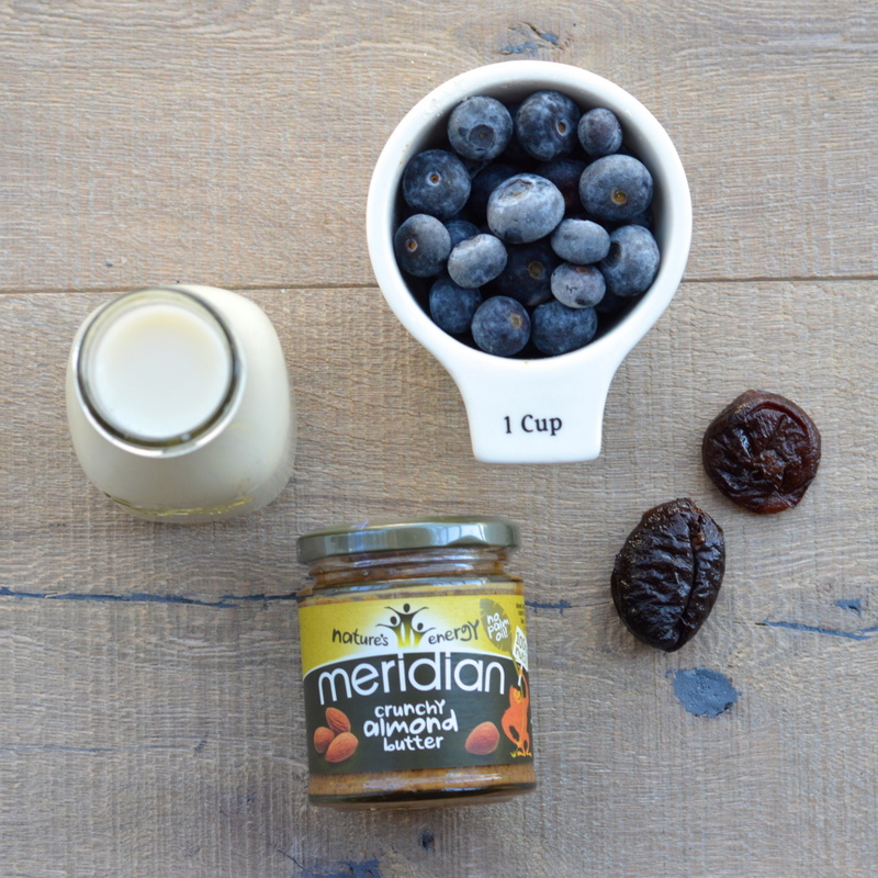 Blueberry Almond Dairy Free Smoothie