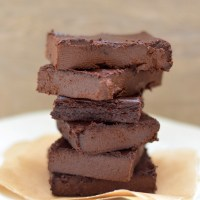 Mrs P's Chocolate Fudge Aubergine Brownies