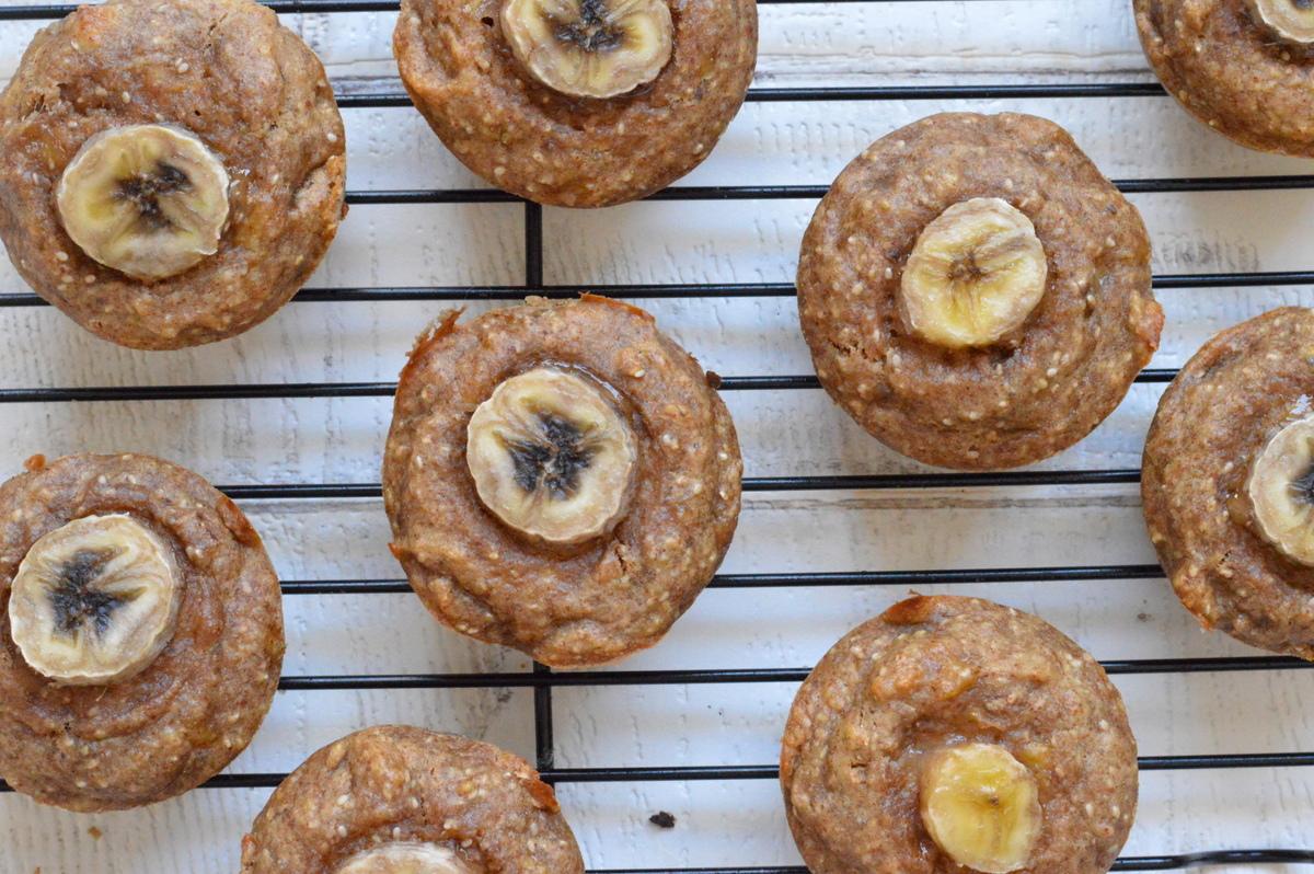 Vegan Banana Chia Muffins