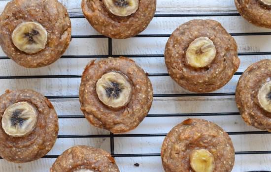 Banana and Chia muffins (Vegan / Egg-Free )