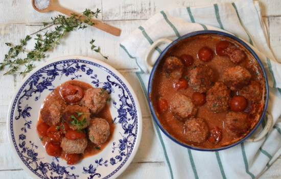Smoked Paprika, Apple and Thyme Meatballs